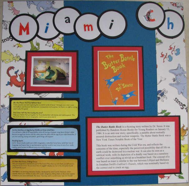 Miami Children's Museum, Dr. Seuss Exhibit