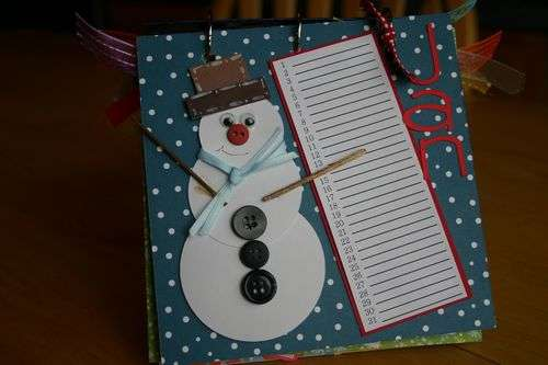 Perpetual Gift Calendar - 01 January