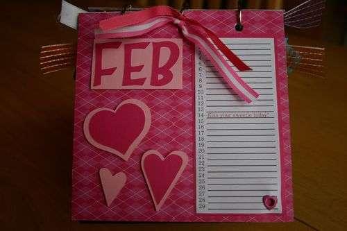 Perpetual Gift Calendar - 02 February