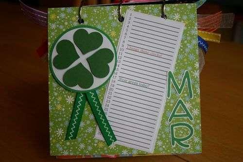 Perpetual Gift Calendar - 03 March