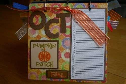 Perpetual Gift Calendar - 10 October