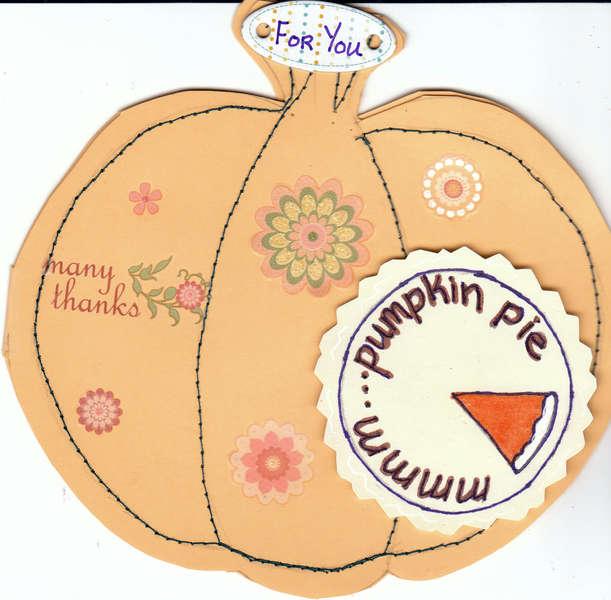 Mmmm...Pumpkin Pie
