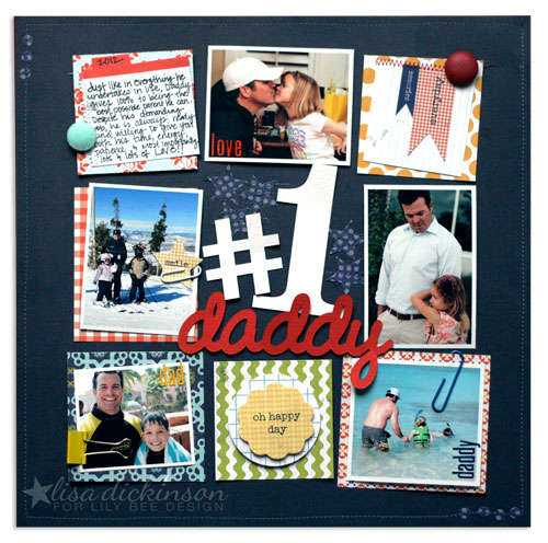 #1 Daddy<br>{Lily Bee Design}