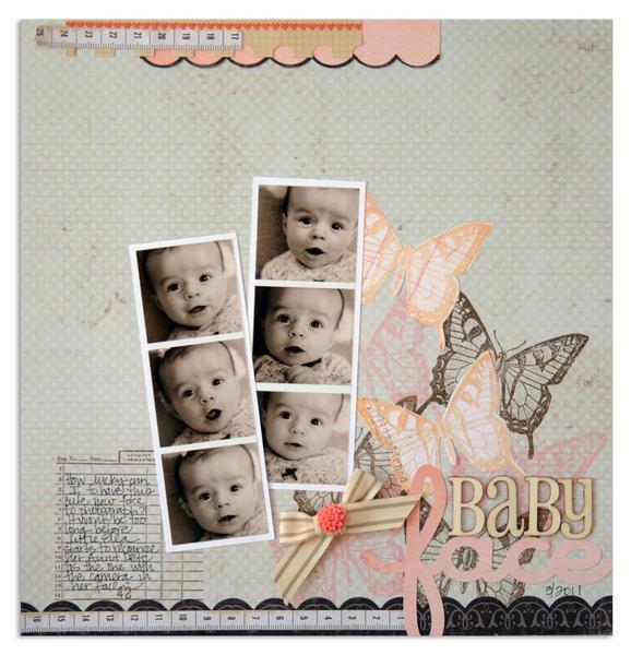 baby face<br>[Scrapbook Trends Oct '12]