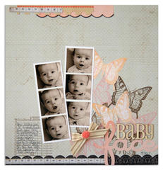 baby face<br>[Scrapbook Trends Oct '12]