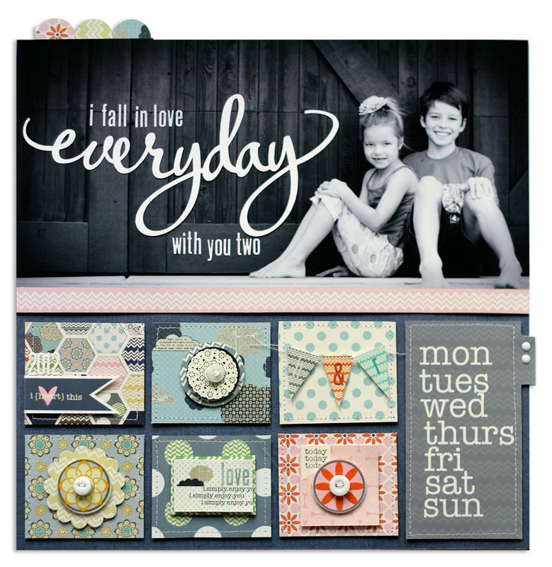 everyday | Scrapbook Trends Aug '13