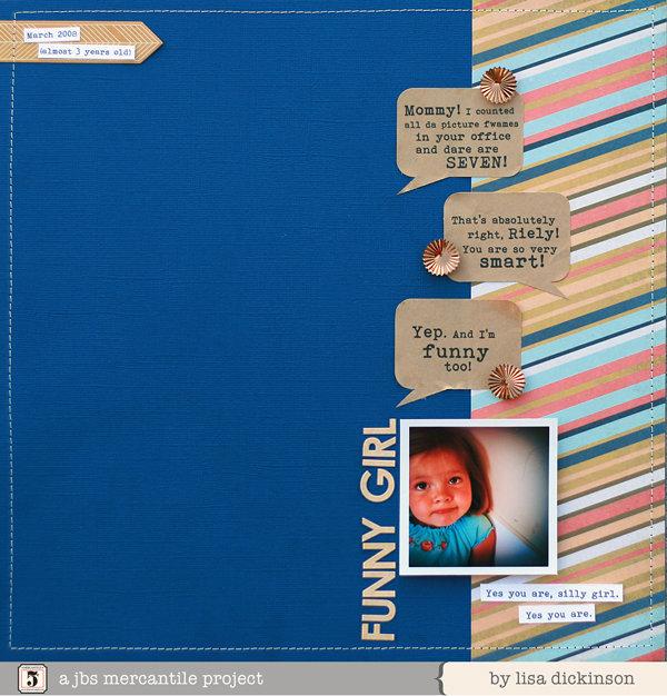 funny girl | JBS Mercantile Kits
