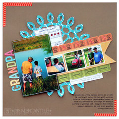 grandpa<br>Scrapbook Trends JUL'13