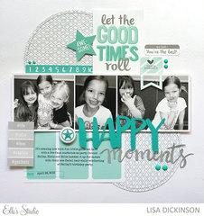happy moments | elle's studio