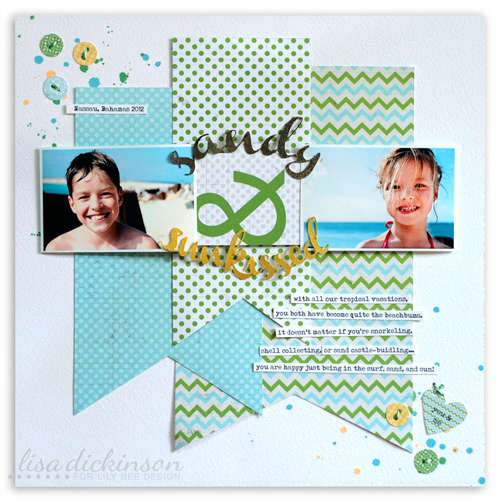 sandy & sunkissed<br>{Lily Bee Design}