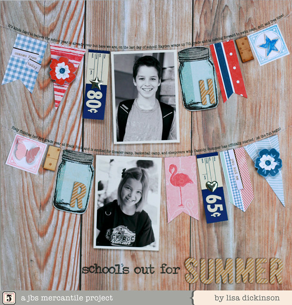 school's out | jbs mercantile kits