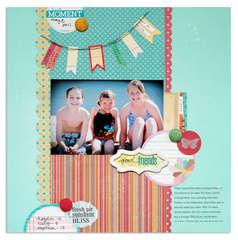 good friends{Scrapbooks Etc. Aug.'12}