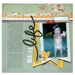 real life | Scrapbook Trends Apr '14