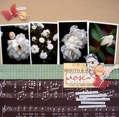 my little rose garden<br>{Jenni Bowlin Sept. Kit}
