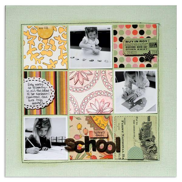 scenes from school<br>{Jenni Bowlin Aug kit}