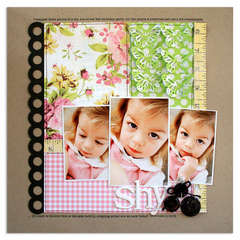 shy<br>{Scrapbook Trends June 2011}