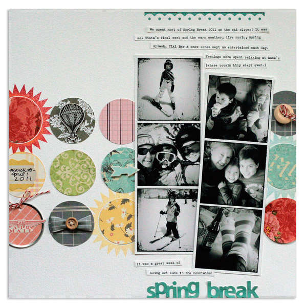 spring break<br>{Scrapbooks, Etc. APR '12}