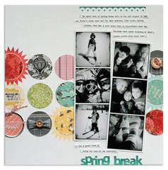 spring break<br>{Scrapbooks, Etc. APR '12}