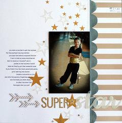 superstar | Scrapbook Trends Feb '14