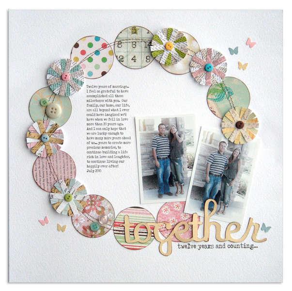 together <br>{Scrapbook Trends Feb 2011}
