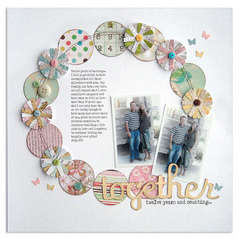 together <br>{Scrapbook Trends Feb 2011}