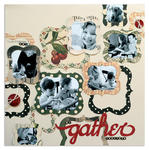 we gather<br>[Scrapbook Trends Nov '12]