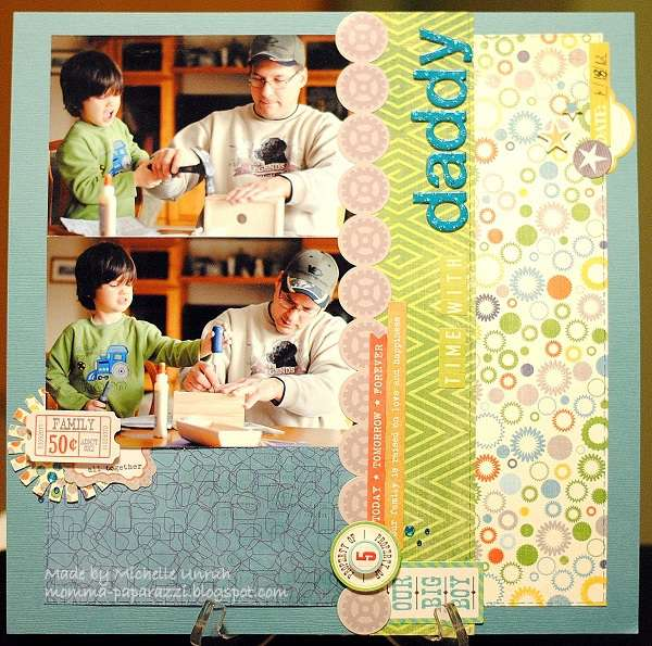 Time With Daddy   ***Scraptastic Club***