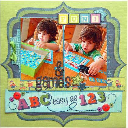 Fun & Games  ***Scrapbook Daisies DT***