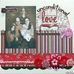 Unconditional Love    ***Scrapbook Daisies***