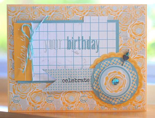 Today is.... Your Birthday   ***Scraptastic Club***