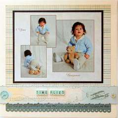 Time Flies  ***Scrapbook