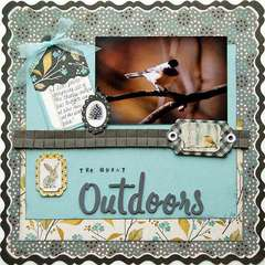 The Great Outdoors ***Scrapbook Daisies***