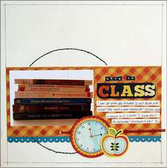 Back In Class  ***Scrapbook Daisies DT***
