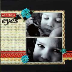 Beautiful Eyes   ***Scraptastic Club***