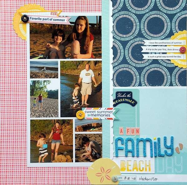 A Fun Family Beach Day
