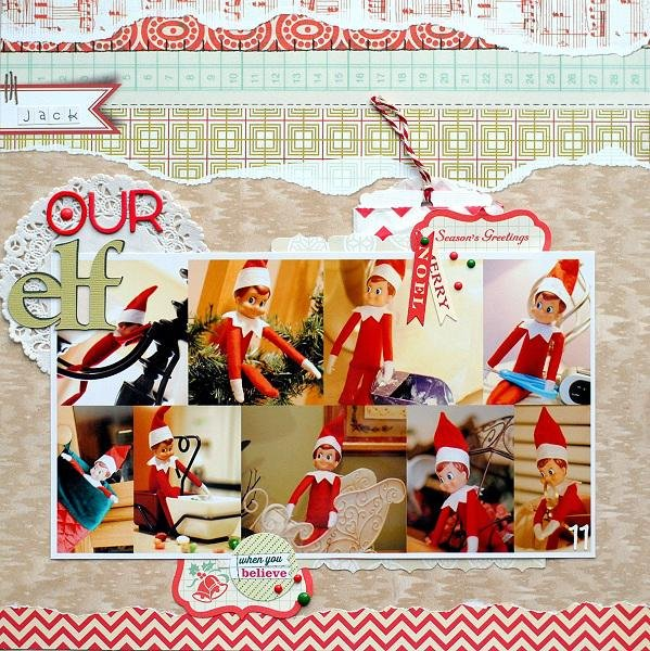 Our Elf    ***Scraptastic Club***