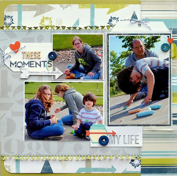 These Moments  ***Scraptastic Club***