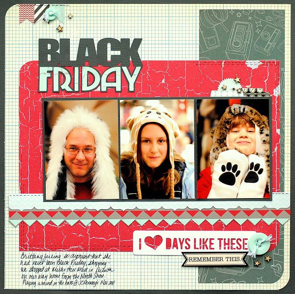Black Friday ***Scraptastic Kit Club***