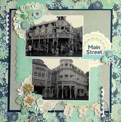 Main Street, USA    ***Scraptastic Club***
