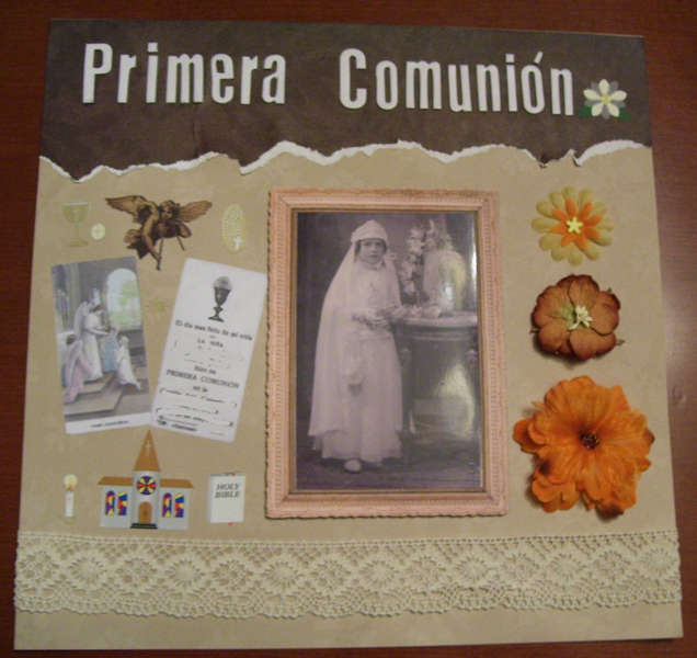 Primera comunión /Holy Communion