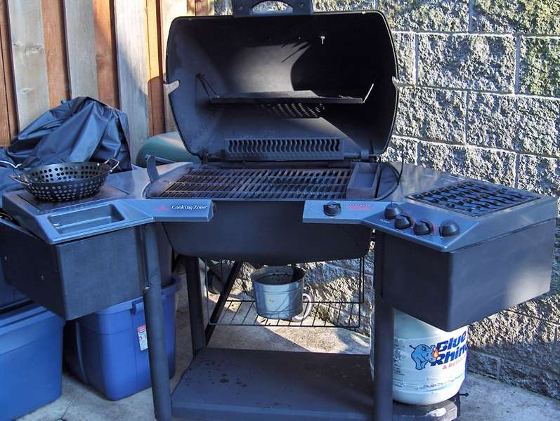 Pic of new BBQ