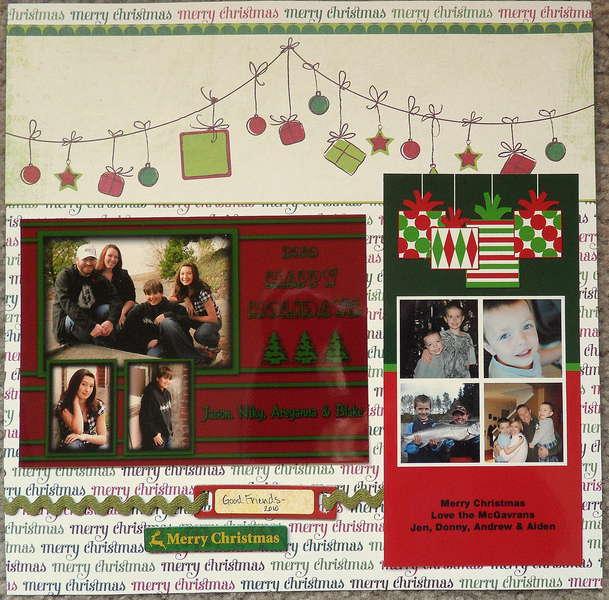 Good Friends Christmas Cards 2010