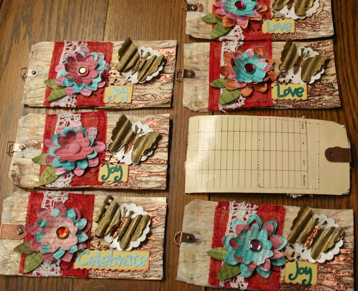 More Altered Art Tags
