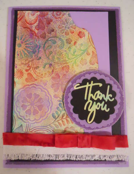 large Thank you Card