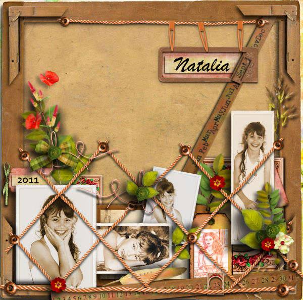 Natalia - vintage board