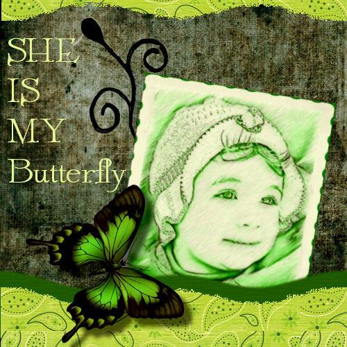 She is my Butterfly