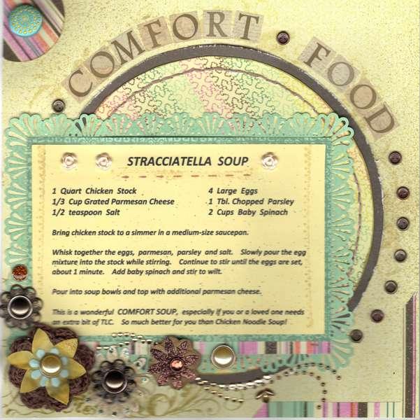 Stracciatella Soup - Comfort Food