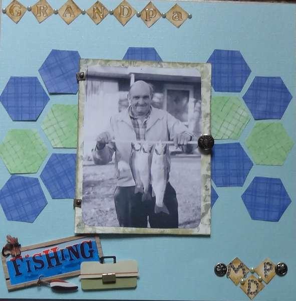 Grandpa M.D.P (stands for Marden Daniel Perkins)