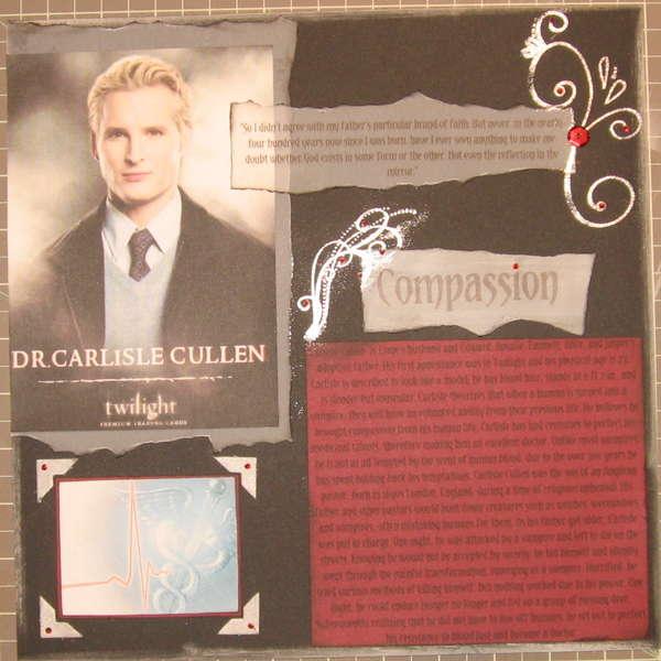 DR. CARLISLE CULLEN (COMPASSIONATE)