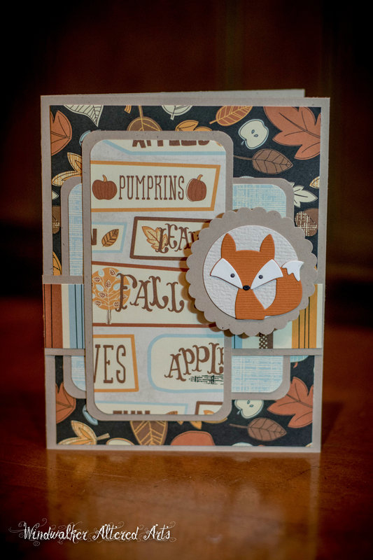 F is for Fall Fox